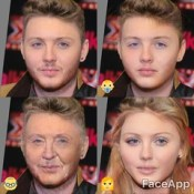 James Arthur - faceapp