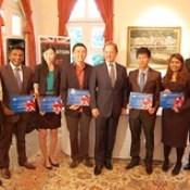 Singaporean Chevening Scholars 2013/2014