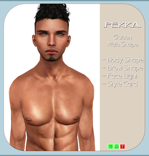 pekka guleen male shape