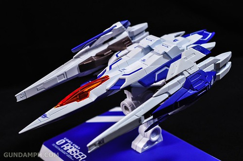 Metal Build 00 Gundam 7 Sword and MB 0 Raiser Review Unboxing (106)