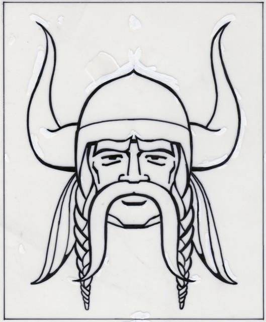 Minesote Vikings Skecth Logo