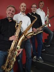Saksofonikvartetti Aava / Saxophone quartet Aava