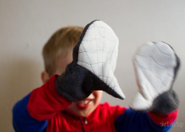 spider mittens