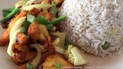 Menu hari ini: Nasi Goreng Lenggang Kangkung by aimedianet