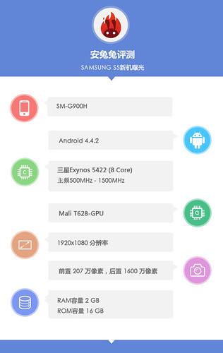 Galaxy S5 Benchmark Exynos