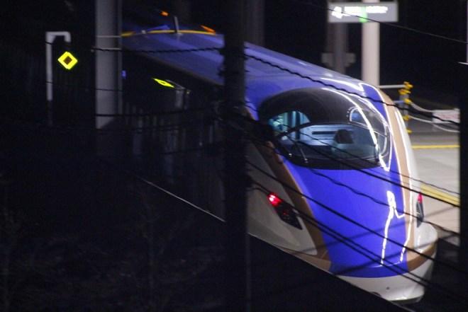 E7系F1編成 軽井沢発車