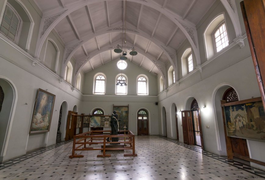 One of the rooms of the palace, Aga Khan Palace