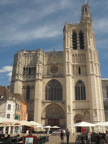 St. Etienne de Sens, West Facade