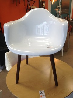 Eames armchair knock-off
