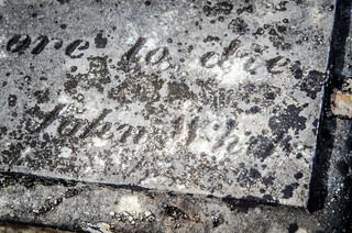 John White Signature Stone