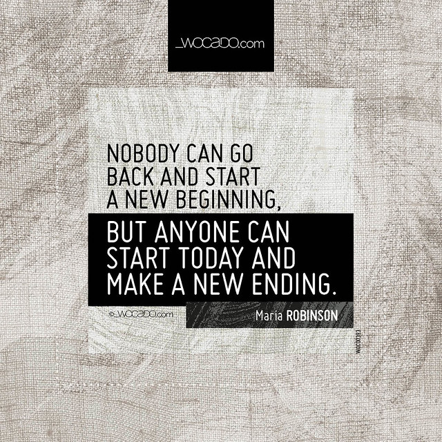 Nobody can go back  by WOCADO.com