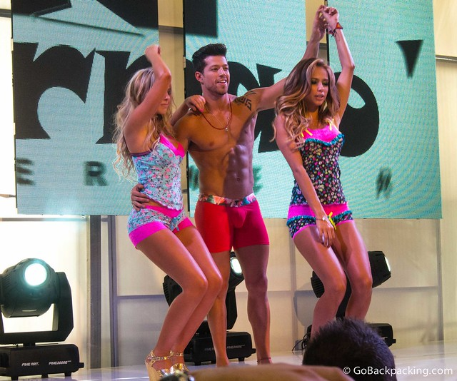 Catalina Otalvaro (right) dances
