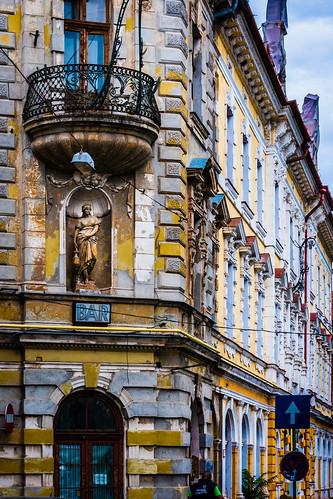 Strada Republicii, Oradea, Romania,  Bar, Architecture