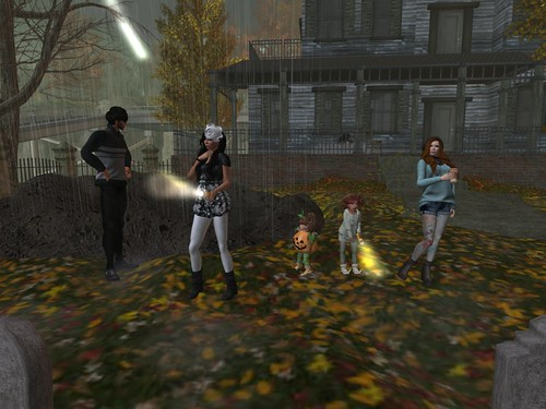 Hanging at the Spooky Place by Lolita