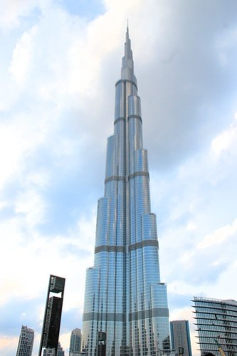 Worlds Tallest Building - Burj Khalifa in Dubai