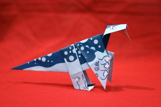 Origami Velociraptor