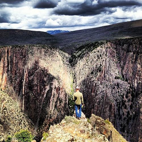 Cliff Hanger #blackcanyon #nationalparks #colorado