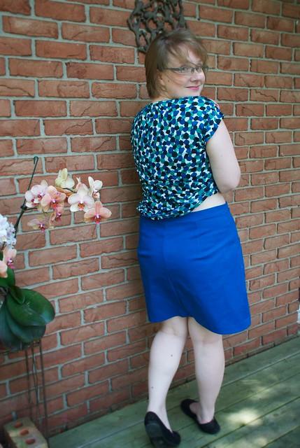 Sewing Cake Hummingbird Skirt