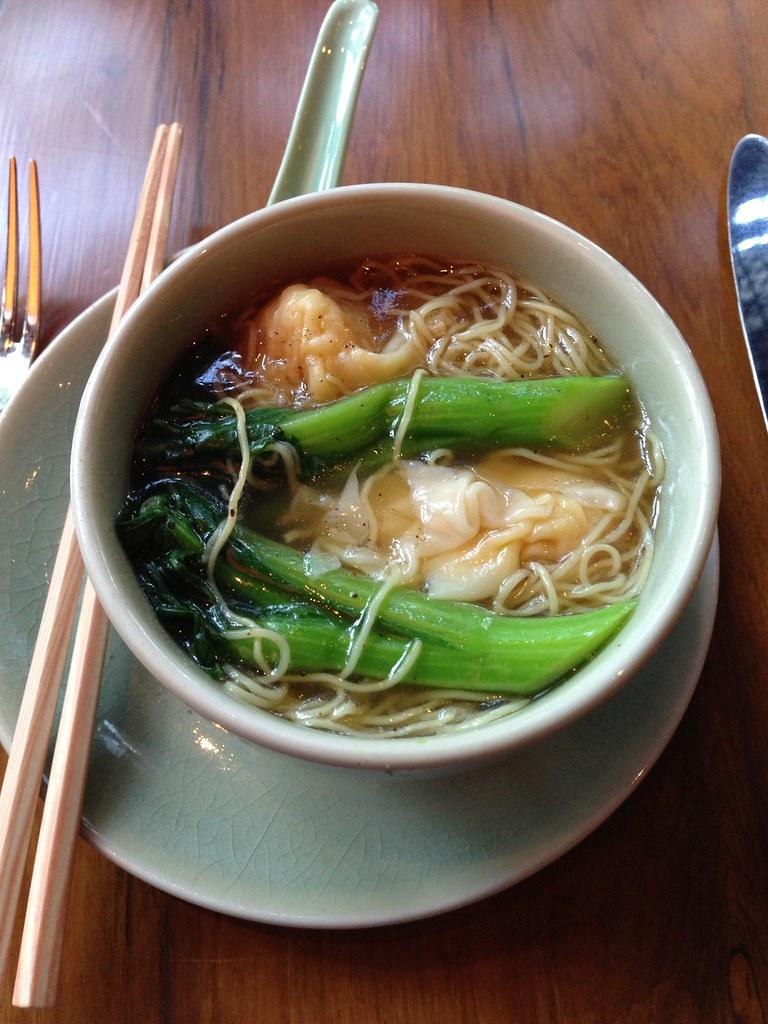 Shrimp Wontons Noodle at mezza9