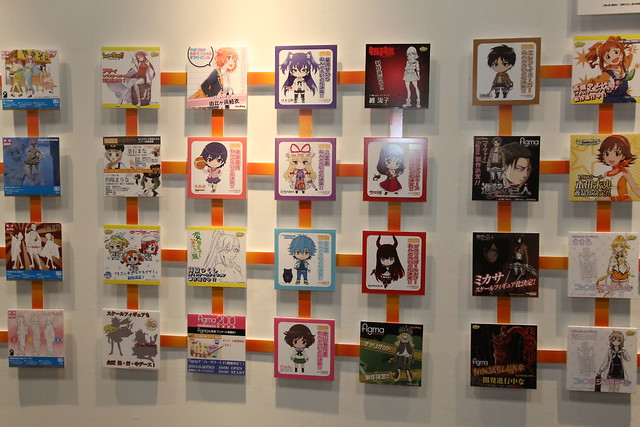 Wall of Nendoroid Designs