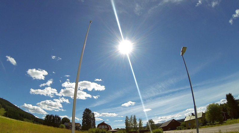 Sun and the wideview