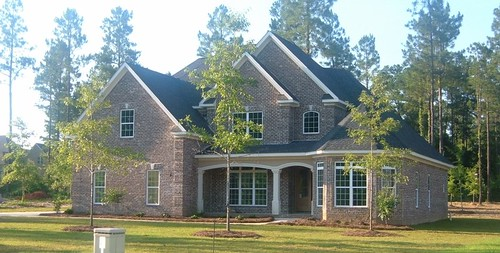 traditional house plan 120g