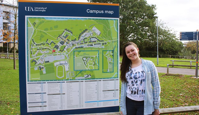 Map of uni