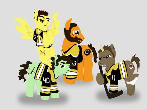 My Little Blackhawk Boston Bruins