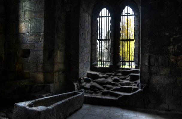 Kirkstall Abbey Stone Coffin