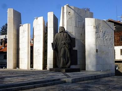 Paisiy Hilendarski Monument by dibach