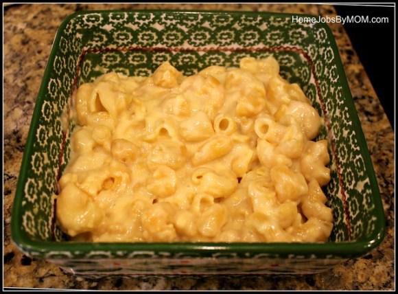 honeybaked ham mac and cheese