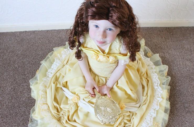 Belle Yellow Ballgown 30/04/17