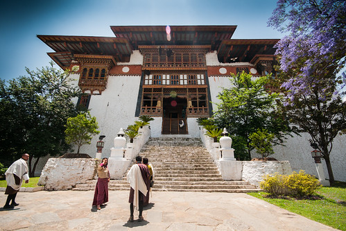 Entrance to Punakha Dzong