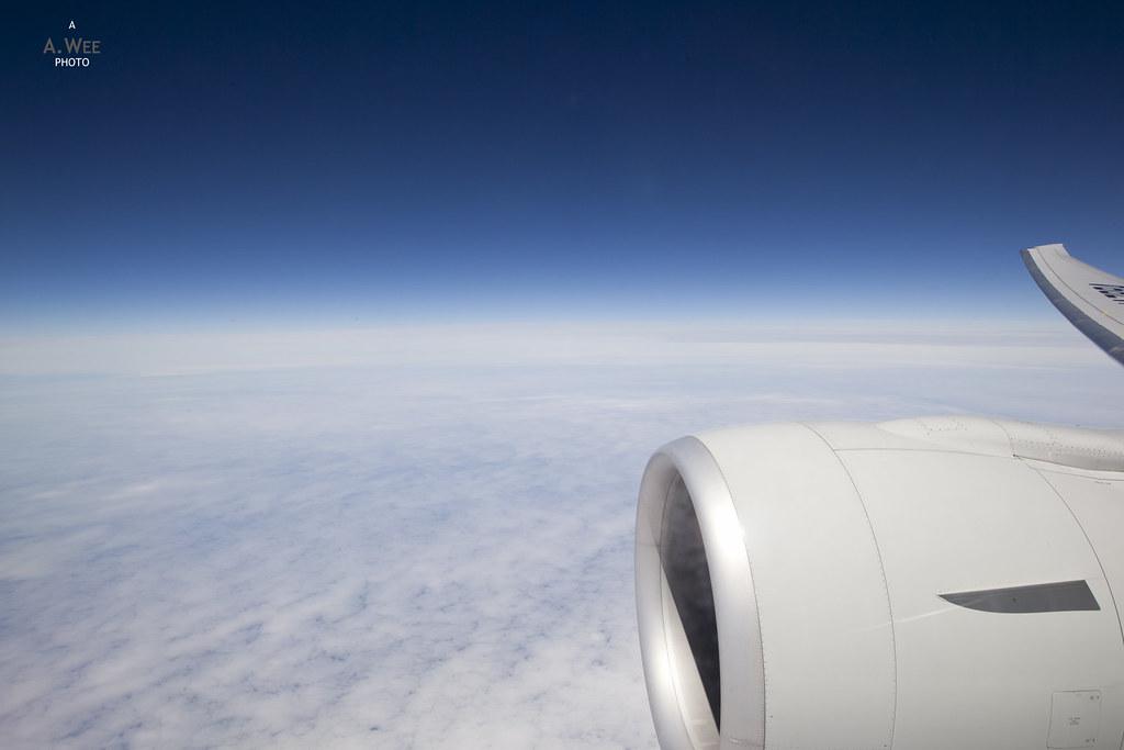 Engine of the 777-300ER