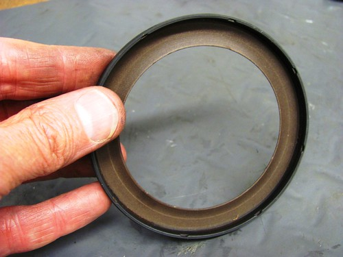 Backside of New Rear Main Seal