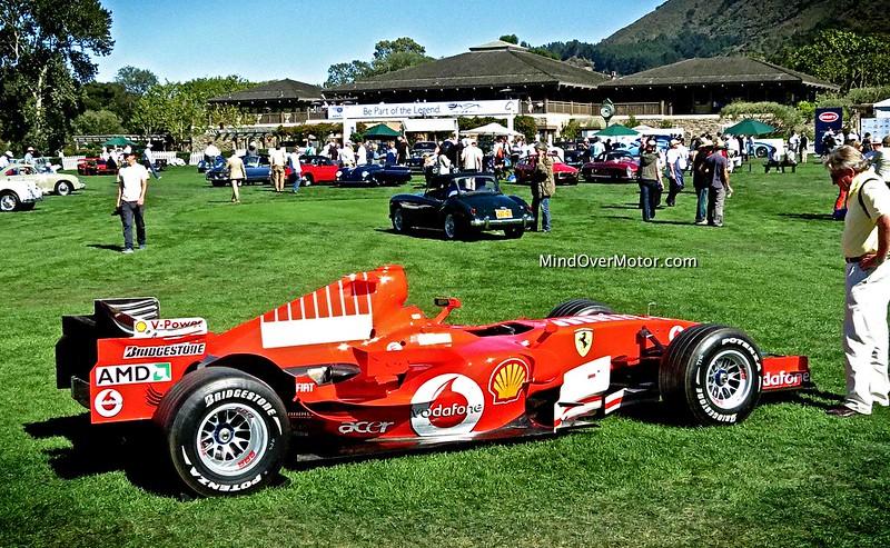 2012 Ferrari F1 Car