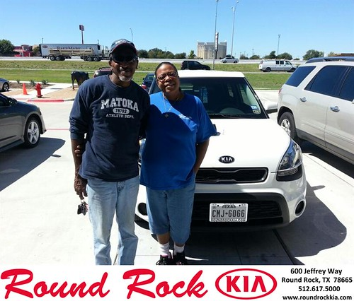 Thank you to Rafael Narvaez Jr on your new 2013 #Kia #Soul from Michael Glass and everyone at Round Rock Kia! #NewCarSmell by RoundRockKia