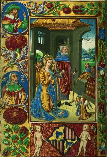 001-fol 57v-W.420, Horas de Almugavar-1510-1520- The  Digital Walters