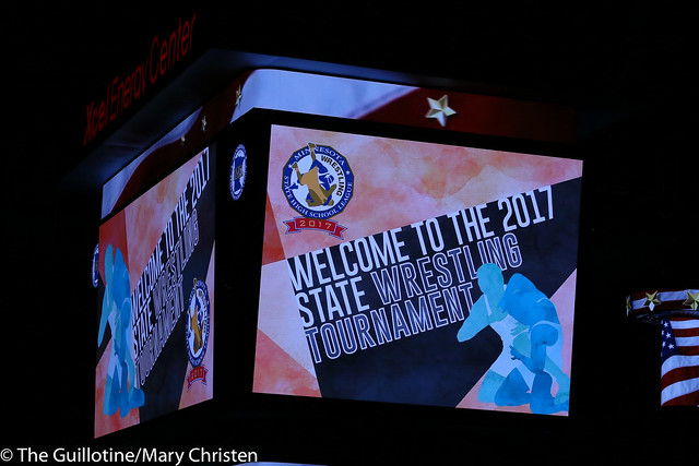 Welcome to the 2017 State Wrestling Tournament