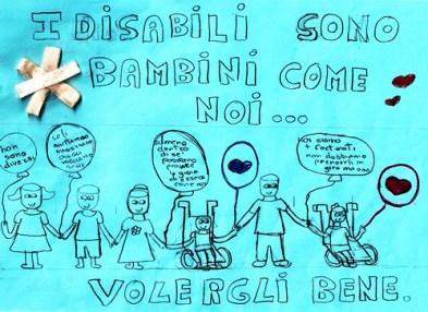 9 i disabili sono bambini come noi