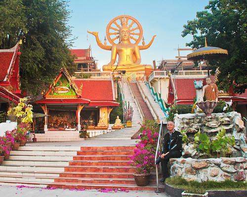 Big Buddha @ BoPhut, Ko Samui