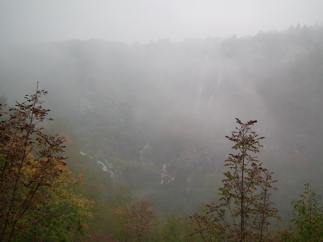 Fog at Plitvice Lakes National Park