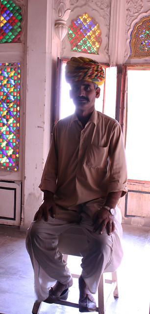 Man in Mehrangarh