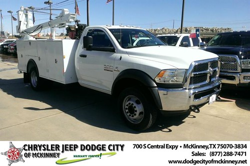 Thank you to Ricky Zachary on your new 2014 #Ram #5500 from Brian Purnell and everyone at Dodge City of McKinney! by Dodge City McKinney Texas