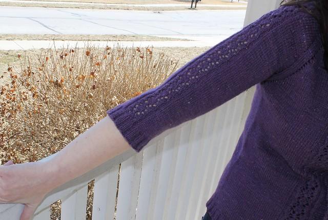 sleeve close up
