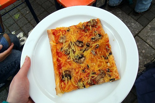 Pizza Funghi mit Wilmersburger