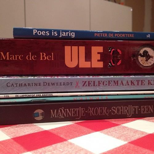 Boekenmarkt en u nadien in de boekenwinkel niet kunnen inhouden #Beatrijs #lannoo #oudenaarde