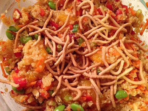 mandarin quinoa salad
