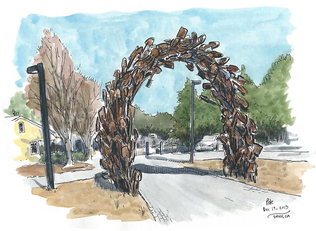 shovel gateway, davis