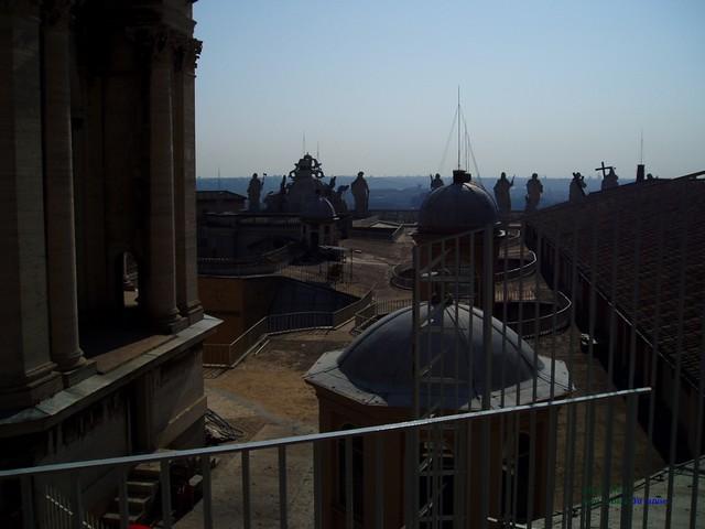 Lucernarios Basílica Vaticano